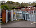 ST3089 : Caution - razor wire, Crystal Cleaning Solutions, Newport by Jaggery