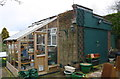 SK9235 : Garage at rear of #2 Kenwick Drive by Roger Templeman