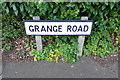 TM4189 : Grange Road sign by Adrian Cable