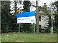 TM4289 : Beccles Health Campus (Beccles Hospital) sign by Adrian Cable