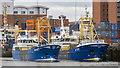 J3475 : Mussel dredgers, Belfast by Rossographer