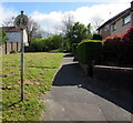 ST3094 : No Cycling sign facing Liswerry Drive, Llanyravon, Cwmbran by Jaggery
