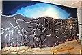 SH5860 : A WW1 mural by Richard Hoare
