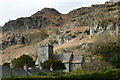 NY3205 : The church at Chapel Stile by Mike Pennington