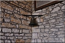 SY5697 : Toller Porcorum, Ss. Andrew and Peter Church: The bell that called children to school for over a century by Michael Garlick