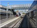 N7313 : Kildare station footbridges by Gareth James