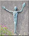SP2878 : St Oswald's Church, Jardine Crescent, Tile HIll, west Coventry – the Risen Christ by Robin Stott
