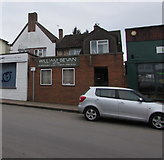 SO6024 : William Bevan independent family funeral directors, Ross-on-Wye by Jaggery