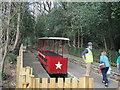 SE1338 : Shipley Glen Tramway: boarding the red tram by Stephen Craven