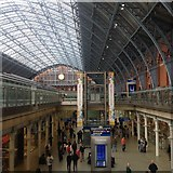TQ3083 : St. Pancras Station by Dave Thompson