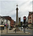 SD7109 : Bolton Market Cross, Churchgate by Gerald England