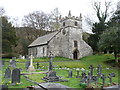 SD3785 : St Mary's church. Staveley-in-Cartmel by David Purchase
