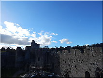 ST5394 : Chepstow Castle by Hamish Griffin
