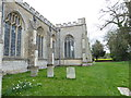 TG1124 : SS Peter & Paul, Salle: churchyard by Basher Eyre