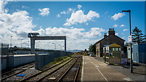 ND1559 : Georgemas Junction Station on the Far North Line by Peter Moore