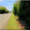 ST3093 : Dry drainage channel, Llanfrechfa Way, Cwmbran by Jaggery