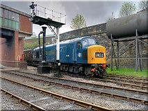 SD8010 : Class 45 Diesel Locomotive leaving Bury by David Dixon
