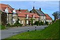 NZ7914 : Houses and pub at Ellerby by David Martin