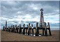 SD3128 : St Anne's Pier landing jetty, Lytham St Annes by Matt Harrop