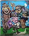SO8318 : Street Art, St John's Lane, Gloucester by Brian Robert Marshall