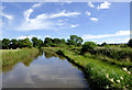 SK0320 : Trent and Mersey Canal north of Rugeley, Staffordshire by Roger  Kidd