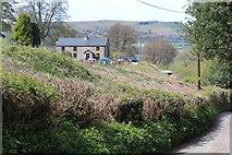 SO2413 : Fynnon Wenallt, Twyn Wenallt by M J Roscoe