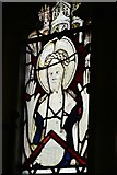 ST5906 : Melbury Bubb, St. Mary's Church: Stained glass window 7 by Michael Garlick