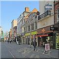 SK5804 : Leicester: Market Street by John Sutton