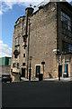 NS5865 : A Glasgow Street corner by Malcolm Neal