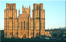 ST5545 : Wells Cathedral by Malcolm Neal