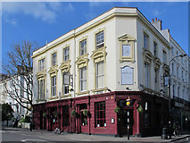 TQ2784 : The Washington, England's Lane / Belsize Park Gardens, NW3 by Mike Quinn