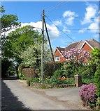 TQ2116 : Brackley/Summerfields, Furners Lane, Henfield by Simon Carey