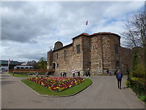 TL9925 : Colchester Castle: spring 2017 by Basher Eyre