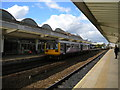 NZ4920 : Darlington train at Middlesbrough station by Richard Vince