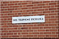 TM1179 : Diss Telephone Exchange sign by Adrian Cable