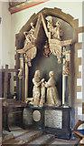 TQ0682 : St John the Baptist, Hillingdon - Monument by John Salmon