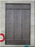 TM0458 : War Memorial plaque from the Ransomes Orwell Works by Adrian S Pye