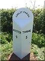 SP6511 : Old Milepost by N Windle