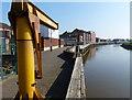 SK8189 : The riverside area of Gainsborough by Mat Fascione