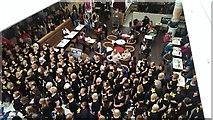 SU1484 : Rock Choir flash mob, Brunel Centre, Swindon by Brian Robert Marshall