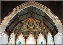 TQ1572 : Holy Trinity, Twickenham Green - Apse roof by John Salmon