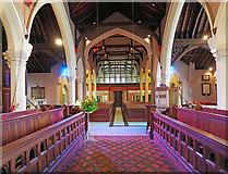 TQ1572 : Holy Trinity, Twickenham Green - West end by John Salmon