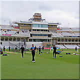 SK5838 : Trent Bridge: a new look at the Radcliffe Road End by John Sutton
