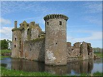 NY0265 : Caerlaverock Castle by G Laird