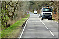 NH5938 : HGV on the A82 near Lochend by David Dixon