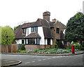 TQ5190 : House, Reed Pond Walk, Gidea Park by Julian Osley
