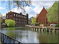 TG2308 : Norwich: beside the Wensum by John Sutton