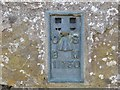 NY7442 : Ordnance Survey Flush Bracket 11750 by Peter Wood