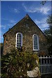 SN0437 : Converted chapel, above Newport / Trefdraeth by Christopher Hilton
