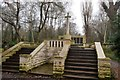 TQ3386 : Abney Park Cemetery - war memorial by N Chadwick